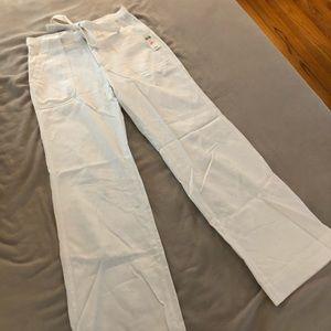 Wide Leg White pants